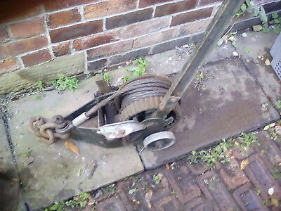 Trewhella Tree Winch 28 Inches Long Working Collect Wakefield With Handle