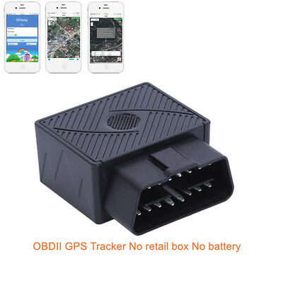 Car GPS Real-Time Tracker GSM GPRS Mini Tracking Device Anti Theft Alarm System