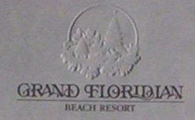 Disney 7 Sheets Grand Floridian Embossed Backstage Office Letterhead