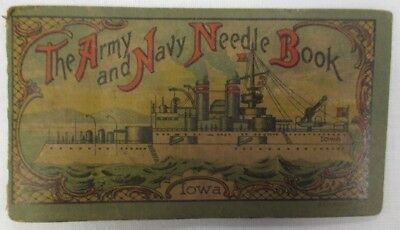 """Antique """" The Army and Navy Needle Book""""  Sewing"""