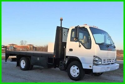 2006 GMC W4500 5.2 Diesel 14ft Flat Bed LOW RESERVE - Stock#15239