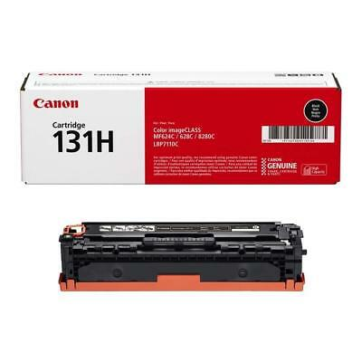 GENUINE FACTORY SEALED Canon Original 131H Toner Cartridge - Black OEM