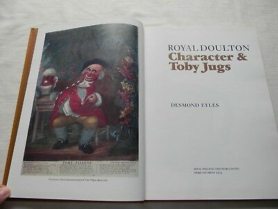 Royal Doulton Character & Toby Jugs Hardcover Reference Book Desmond Eyles 1979