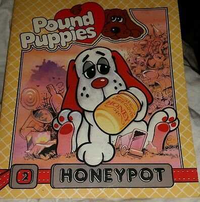 Pound Puppies Honeypot  Book Number 2 - 1980s