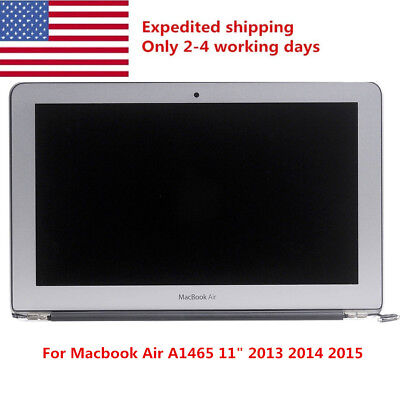 "Macbook Air A1465 11"" Mid 2013 Early 2014 2015 LCD Screen Assembly Replacement"