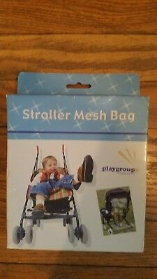 Brand New Stroller Organizer- Mesh Storage Bag For Baby Carriage Playgroup