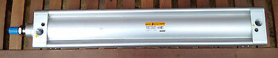 PNEUMATIC VDMA CYLINDER 100mm BORE - 500mm STROKE - Stainless Steel 304 ROD