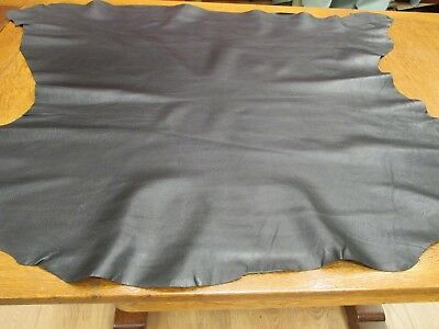 BEAUTIFUL Black LEATHER Skin, Very SOFT can be hand sewn or Machined Ref. SBL 02