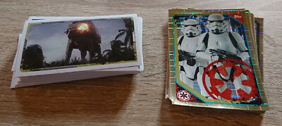Lot De 100 Images Topps Star Wars Rogue One Ttes Differentes