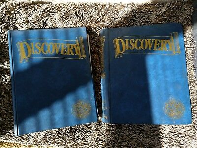 Discovery History Magazines in two binders, the whole set. Apart from issue 15.