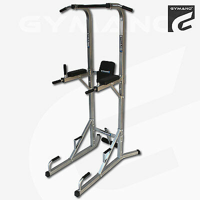Gymano™   Ultimate Vkr™ Power Tower (Pull/push Up Bar) Tricep Dip/sit Up/crunch