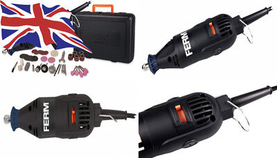 Variable Speed Incl 160W FERM Multipurpose tool 40 Accessories and a storage case Rotary Multitool