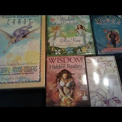 ***Price Reduced***  Angel, Faerie, Oracle and Tarot Lot