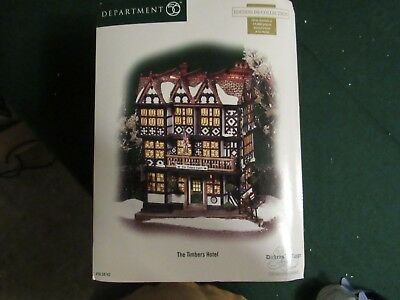 Dept 56 - Dickens Village - The Timbers Hotel 58742 Gorgeous