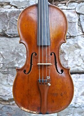 Alte Geige ...   Fine old, very interesting violin about 1850