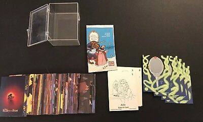 Disney Beauty And The Beast Pro Set Complete 1992 Trading Cards