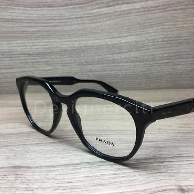 0663cf3826 PRADA WOMENS EYEGLASSES Journal VPR13S VPR 13 S 1AB 1O1 Black ...