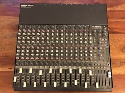 MACKIE CR16004-VZ 16 Channel MIC/LINE Mixer Mischpult ab 1EUR