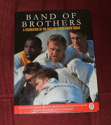 Band Of Brothers A Celebration Of The England Rugby Union Squad Book 1996