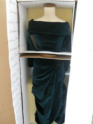 """Diana"" Queen Of Our Hearts, Evolution of an Icon"" Green Velvet Dress"