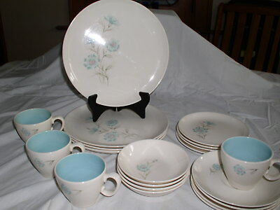 Taylor Smith & Taylor Ever Yours TST BOUTONNIERE 20 pc Dinnerware Set (serves 4)