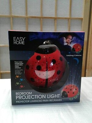Easy Home Lady Bug Bedroom Projection Light