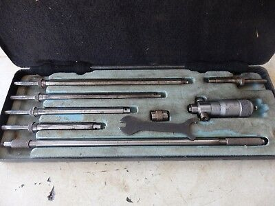 "Moore & Wright 2"" to 8"" inside / bore micrometer set"