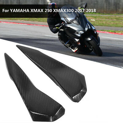 2PC Carbon Fiber Fairing Kits Decorative Cover for YAMAHA XMAX 250 300 2017-2018