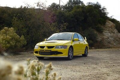 2003 Mitsubishi Evolution VIII from Custom Collection Rare 1-owner From Collection, Low Mileage Excellent Condition, Comfortable Drive