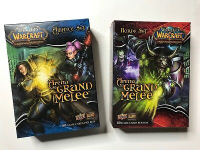 WOW TCG Arena Grand Melee der große Arenakampf Komplett E H&A World of Warcraft