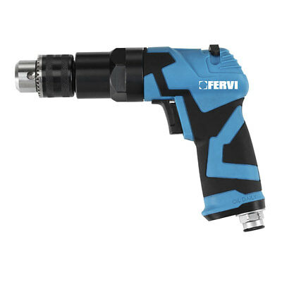Fervi 0418 Drill Pneumatic dryer reversible spindle 10 mm