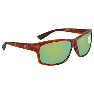 ebf764e344efb Costa Del Mar Cut Green Mirror Rectangular Sunglasses UT 51 OGMP UT 51 OGMP