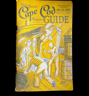Your Weekly Cape Cod Guide Magazine July 15 1950