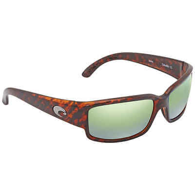47c8c25cac24e Costa Del Mar Caballito Green Mirror 580P Polarized Wrap Sunglasses CL 10  OGMP