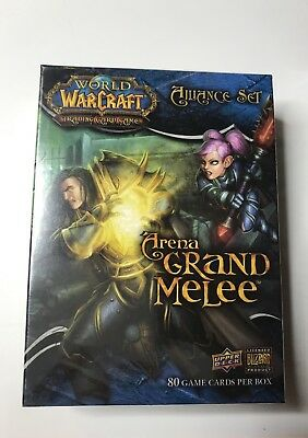 WOW TCG Arena Grand Melee der große Arenakampf Allianz E OVP World of Warcraft