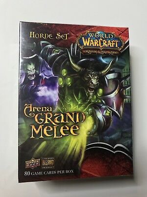 WOW TCG Arena Grand Melee der große Arenakampf Horde E OVP World of Warcraft