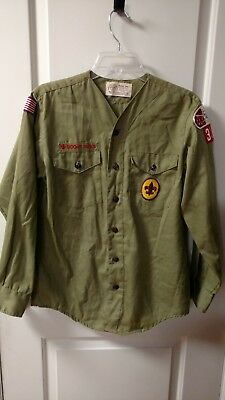 Vintage 70's Boy Scouts of America Shirt Alabama Florida council