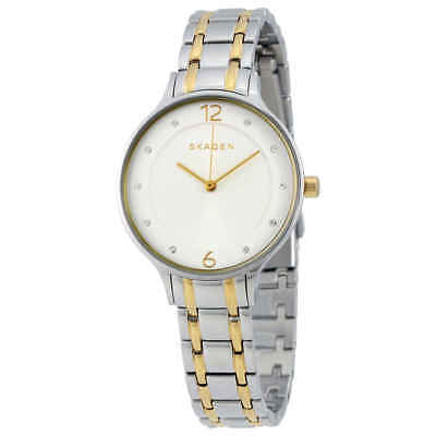 Skagen Anita Silver Dial Two-tone Ladies Watch SKW2321