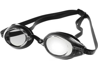 c3a98e50f0fa Speedo Vanquisher Optical Competition Swim Swimming Goggles Clear Diopter  -6.0