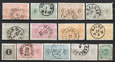 Sweden very nice older era collection,stamps as per scan(5495)