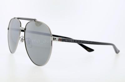08bedd1423b Gucci Gg0014S 002 60Mm Gg0014 s Gold Havana Frame With Brown Gradient Lenses
