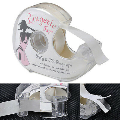 Double-Sided Lingerie Tape Adhesive For Clothing Dress Body Wedding Prom  DT4X