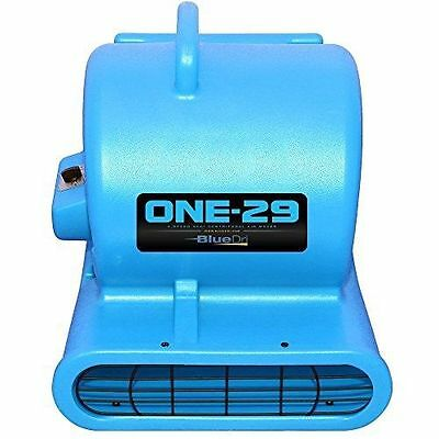 BlueDri One-29 Air Mover Blower Floor Drying Fan Carpet Dryer (Blue)