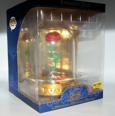 Funko Pop! Beauty & The Beast Enchanted Rose Dome Hot Topic Exclusive