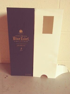 Johnnie Walker Blue Label Blended Scotch Whisky --Empty Box Case for 750 ml