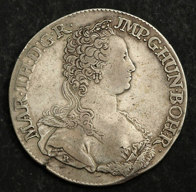 1751, Austrian Netherlands, Maria Theresa. Large Silver Ducaton Coin. Antwerp!