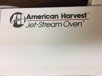 American Harvest Jet Stream Convection Oven NIB