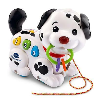 Puppy Dog Toy child Song Baby VTech Pull and Sing Music Sound  Three Color Cord