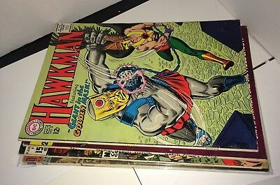 Silver & Golden Age Comic Books Marvel DC Comics & Other Vintage Lot Of 6
