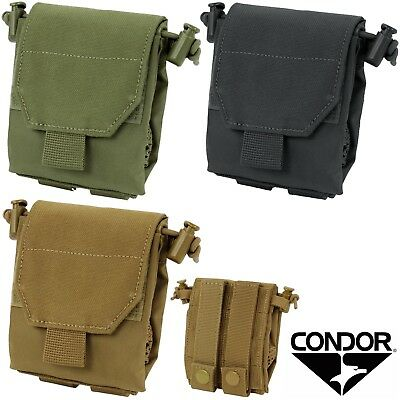 Condor MOLLE Micro Compact Utility Dump Pouch for Rifle and Pistol Magazines